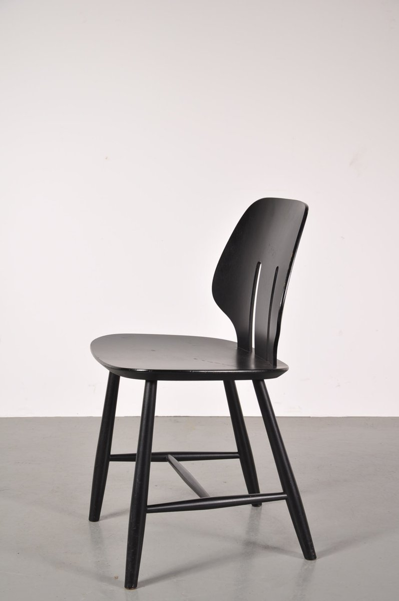 Scandinavian dining chairs by ejvind a johansson for fdb mobler 1950s set of 4 for sale at pamono - Scandinavian chair ...