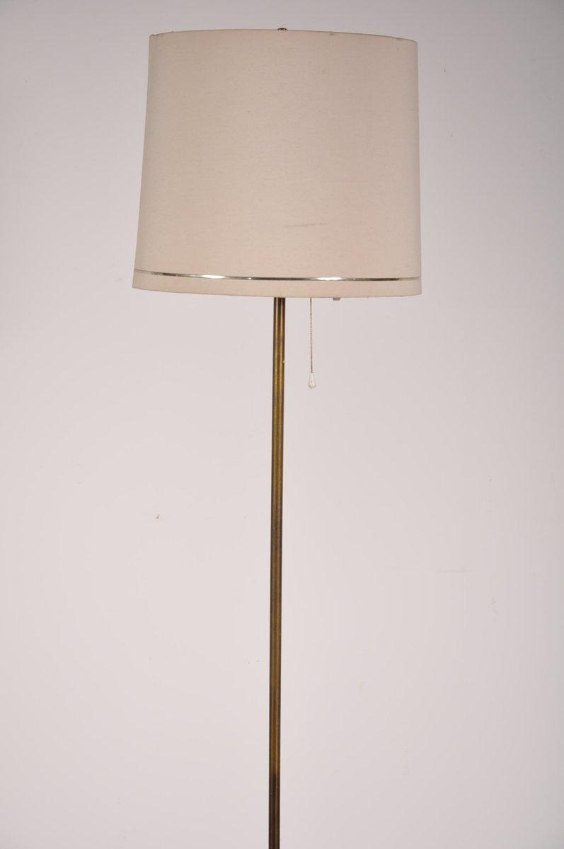 vintage messing stehlampe 1950er bei pamono kaufen. Black Bedroom Furniture Sets. Home Design Ideas