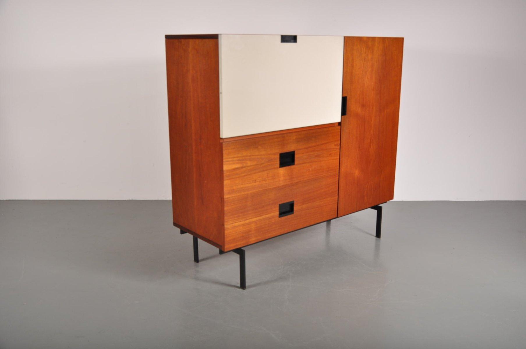vintage teak barschrank von cees braakman f r pastoe bei pamono kaufen. Black Bedroom Furniture Sets. Home Design Ideas