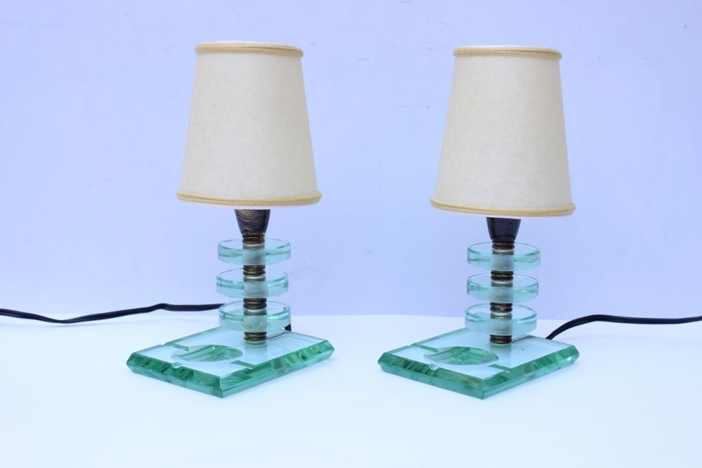italian table lamps 1930s set of 2 for sale at pamono. Black Bedroom Furniture Sets. Home Design Ideas
