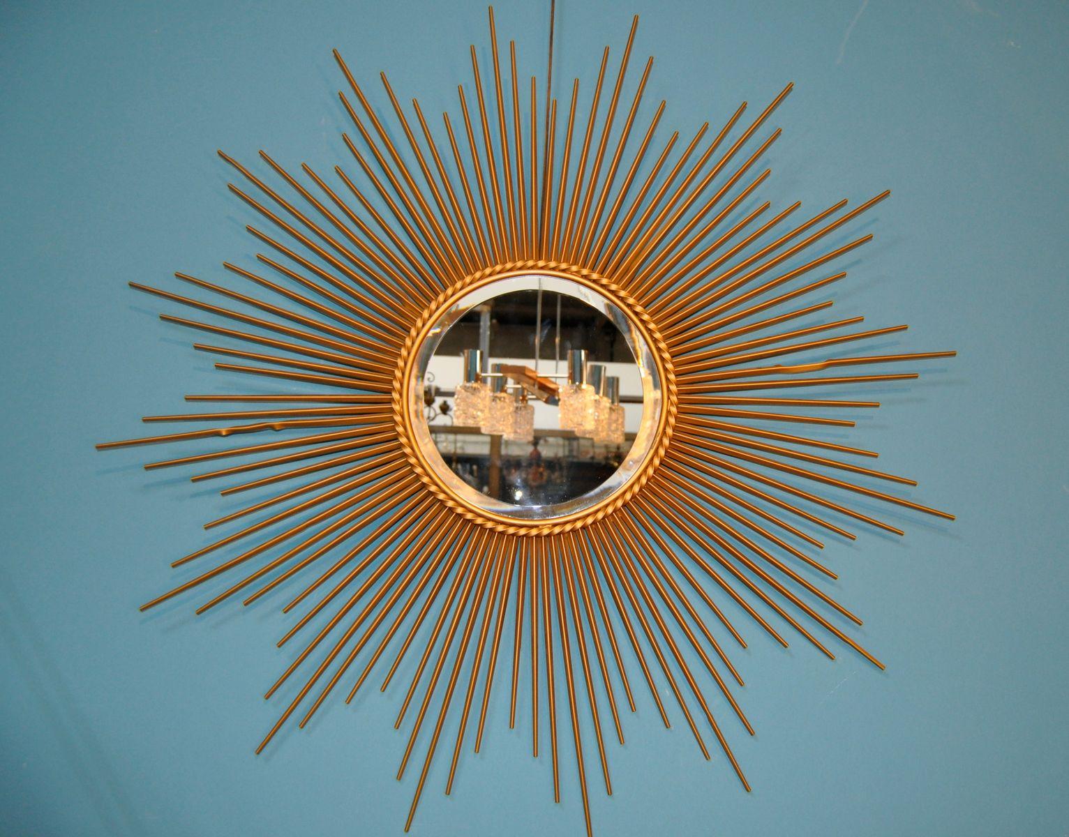 mid century spiegel von chaty vallauris bei pamono kaufen. Black Bedroom Furniture Sets. Home Design Ideas