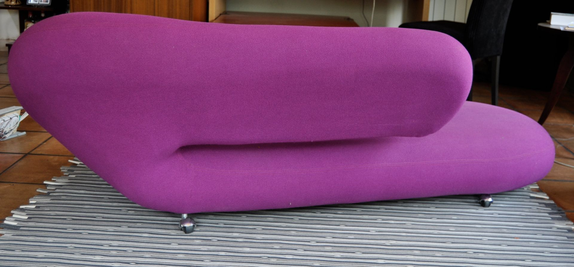 Cleopatra sofa or chaise longue by harcourt for artifort for Artifort cleopatra chaise longue