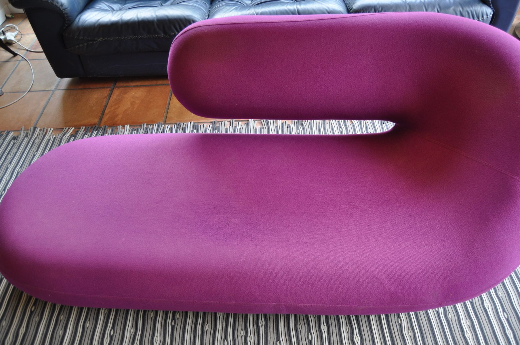 Cleopatra sofa or chaise longue by harcourt for artifort for Chaise cleopatra