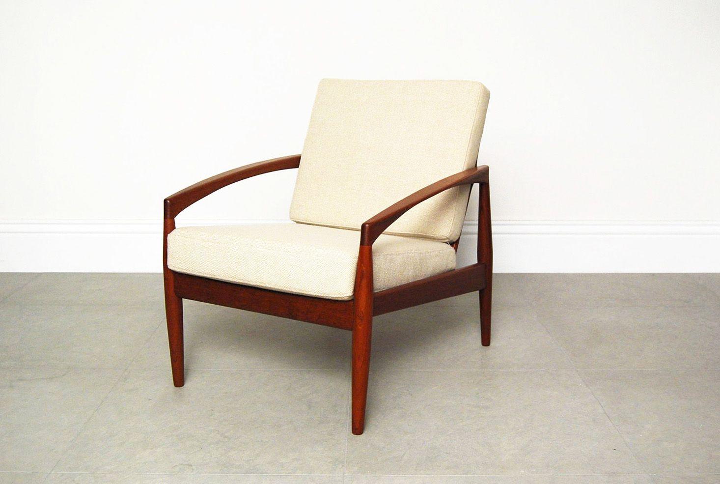 Vintage model 121 paper knife chair by kai kristiansen for sale at pamono - Kai kristiansen chair ...
