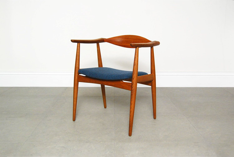 ch 35 stuhl von hans wegner f r carl hansen son 1960er bei pamono kaufen. Black Bedroom Furniture Sets. Home Design Ideas