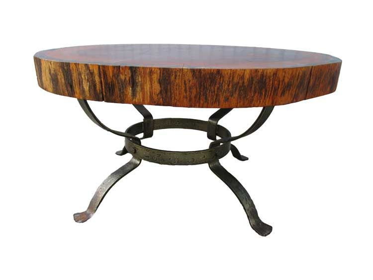 Dutch Vintage Tree Trunk Coffee Table 1960s For Sale At Pamono