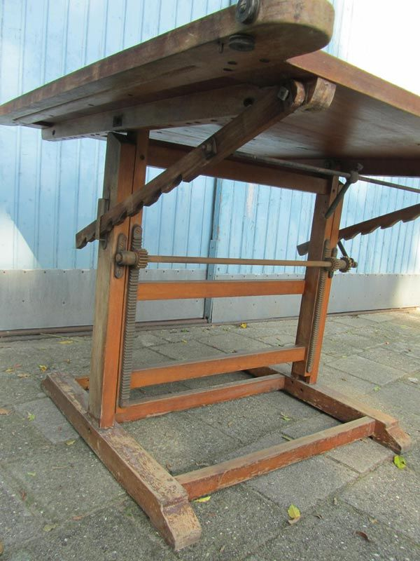 Industrial Drafting Table, 1900s