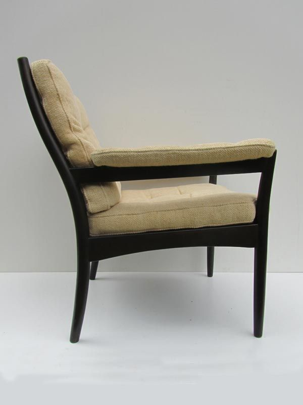 mid century scandinavian lounge chair from g m bel for sale at pamono. Black Bedroom Furniture Sets. Home Design Ideas