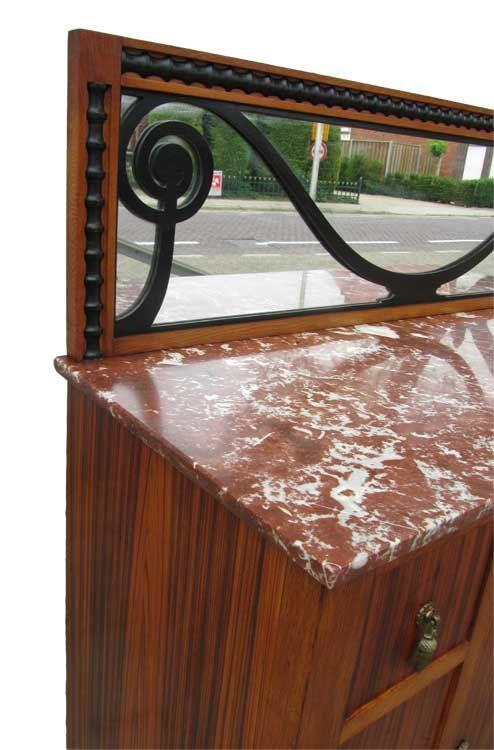 art d co palisander schrank von josef de coene f r kortrijk 1920er bei pamono kaufen. Black Bedroom Furniture Sets. Home Design Ideas