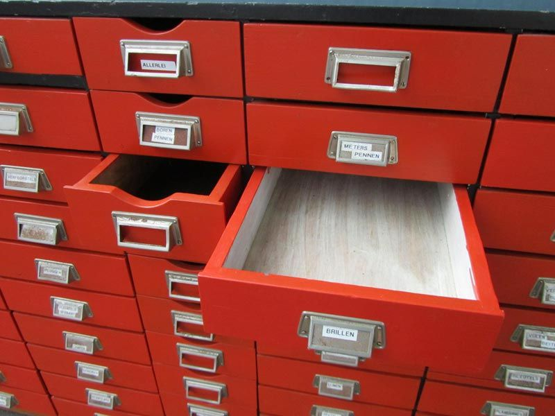 Vintage wooden drawer cabinet for sale at pamono for Kitchen drawers for sale