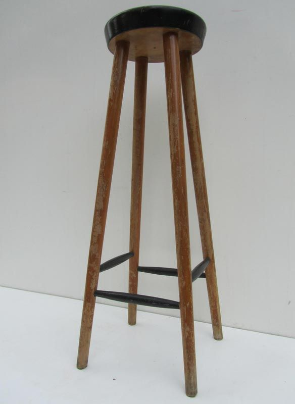 Vintage Wooden Bar Stool for sale at Pamono : vintage wooden bar stool 4 from www.pamono.com size 584 x 800 jpeg 27kB