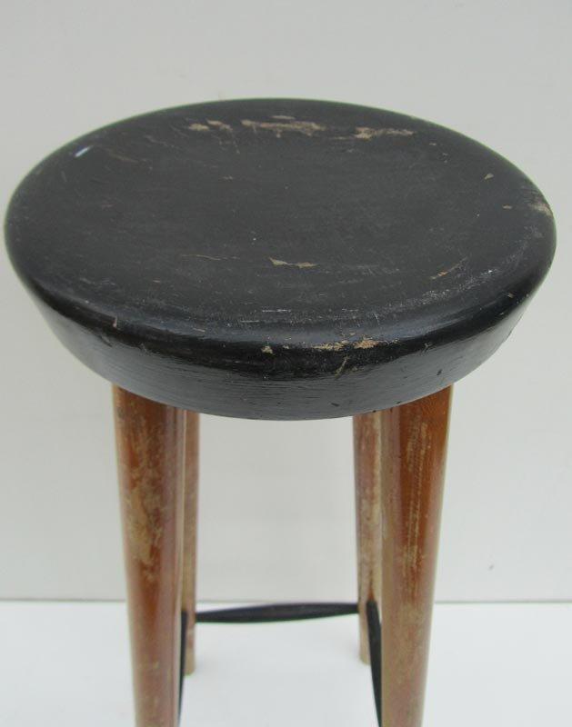 Vintage Wooden Bar Stool for sale at Pamono : vintage wooden bar stool 5 from www.pamono.com size 629 x 800 jpeg 30kB