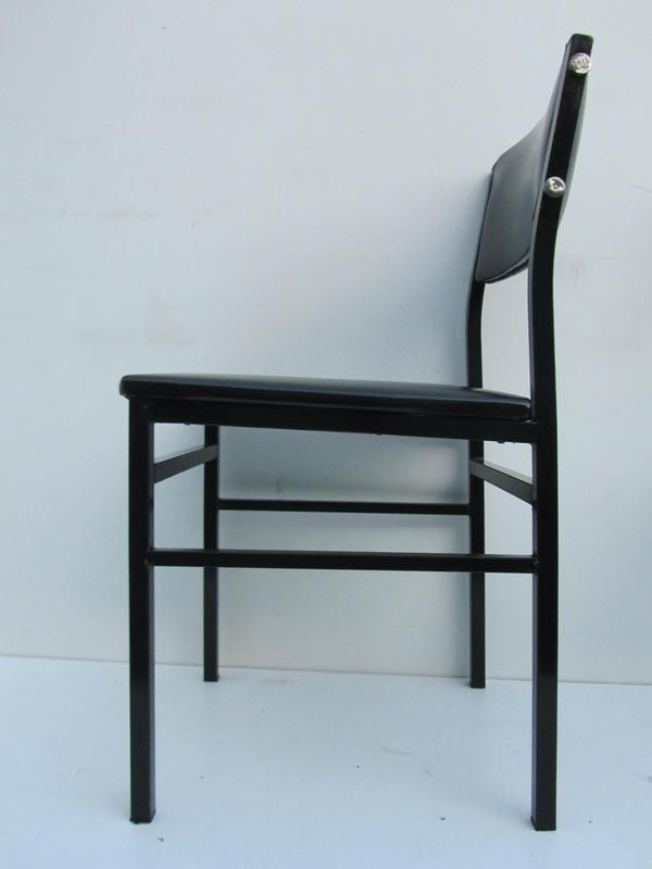 Vintage Minimalist Industrial Design Chairs, 1950s, Set of 6 for sale ...