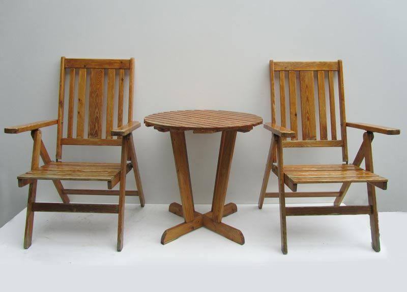 Garden Chairs Table Set From TWA Sweden For Sale At Pamono