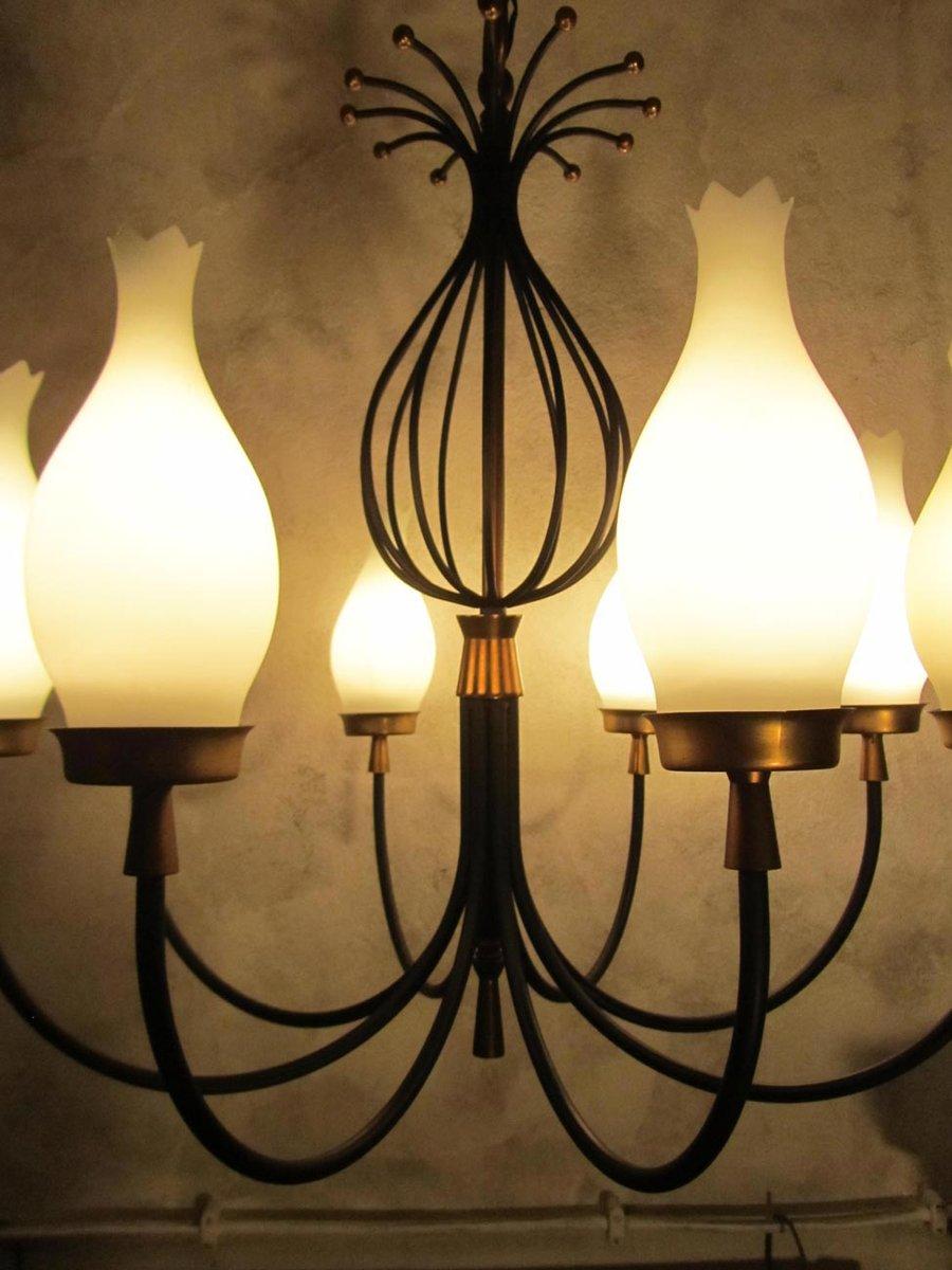 Lampadari e lampade da parete vintage francia anni 39 50 for Lampadari vintage