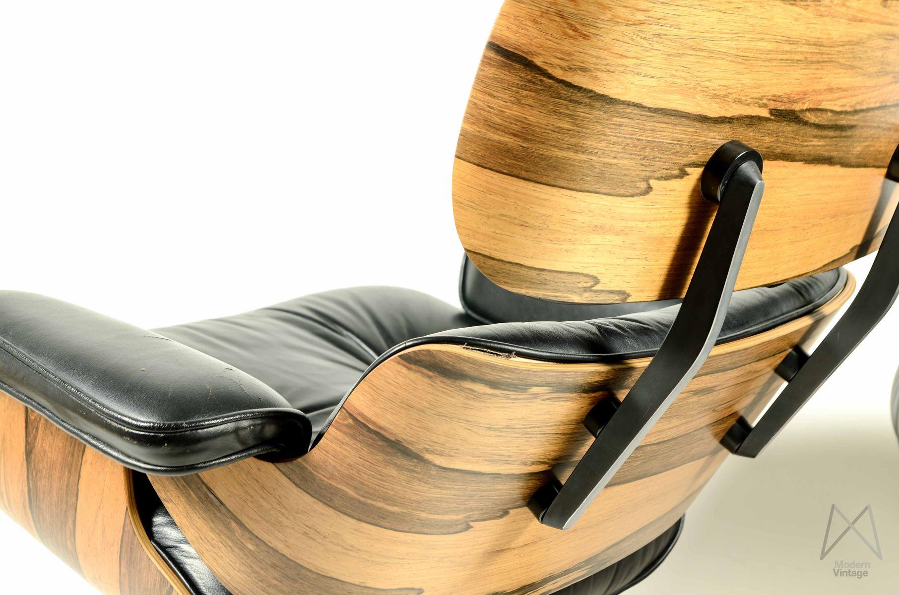 sessel hocker von ray charles eames f r herman miller. Black Bedroom Furniture Sets. Home Design Ideas