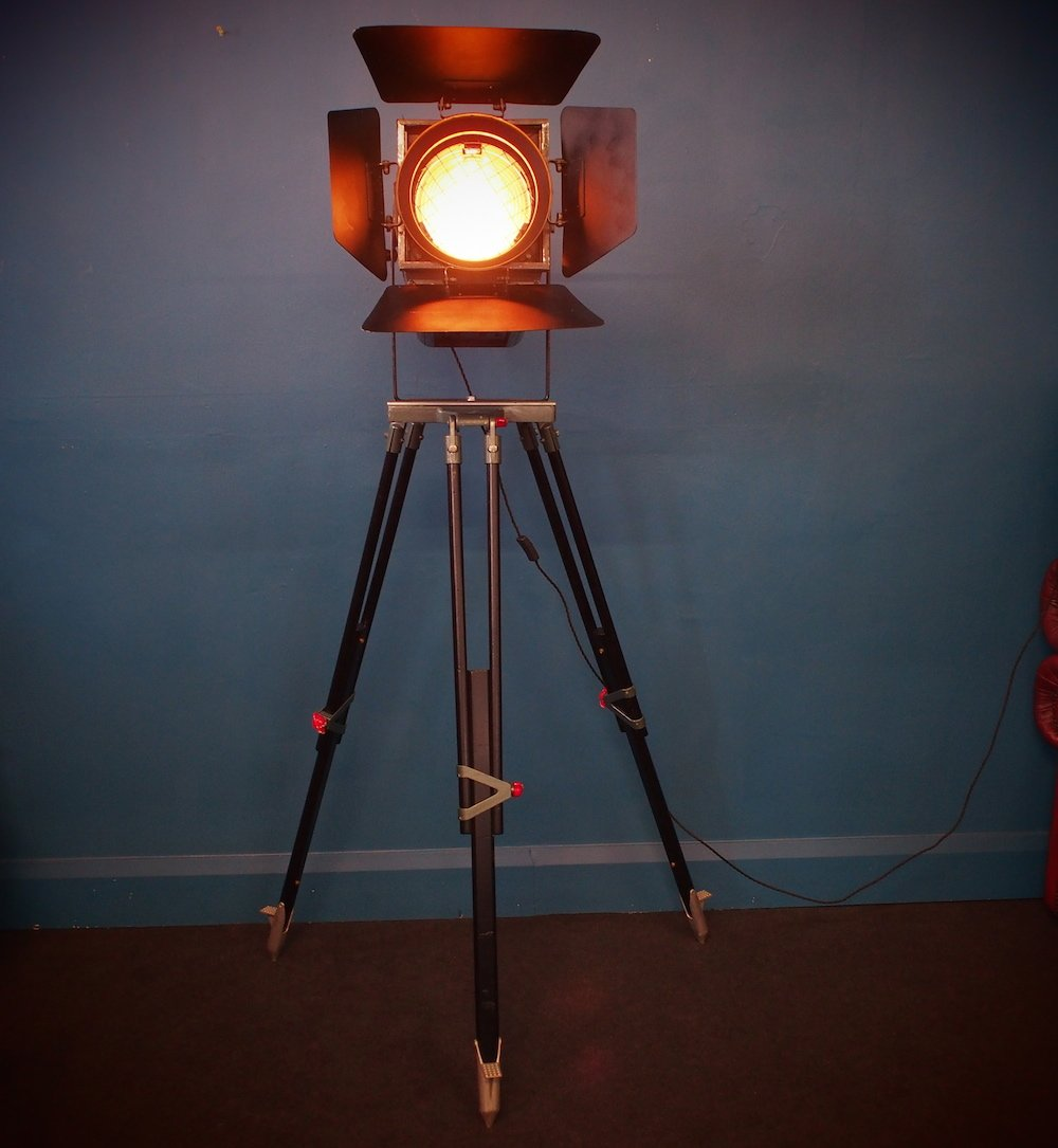 Vintage Tall Stage Light 1960s For Sale At Pamono
