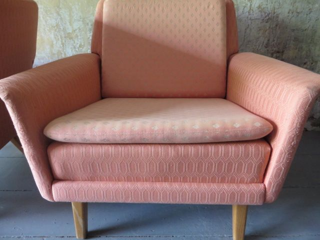 Pale Pink Armchair By Fritz Hansen 1950s For Sale At Pamono