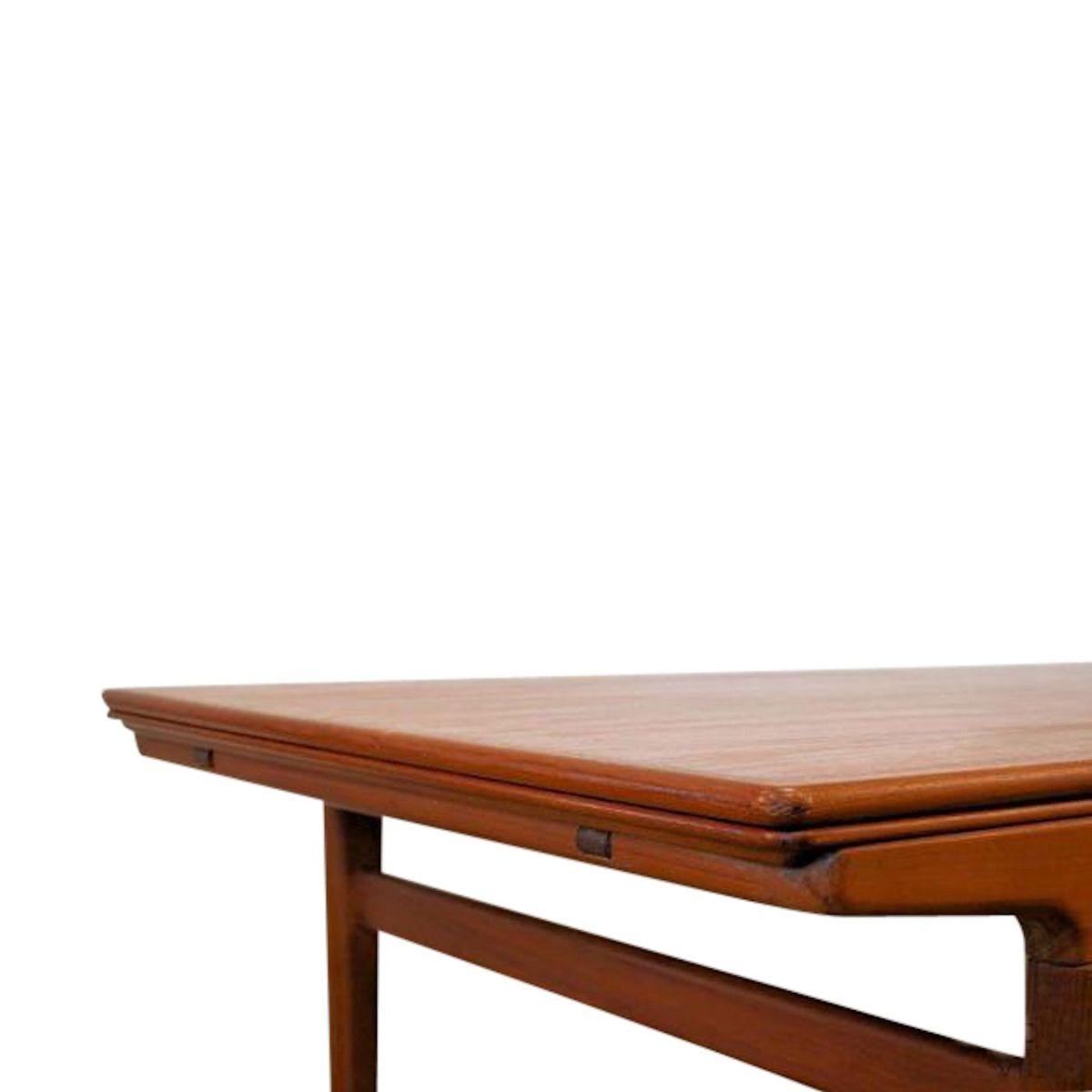 Vintage Teak Extendable Dining Table by Johannes Andersen  : vintage teak extendable dining table by johannes andersen for uldum mobelfabrik 5 from www.pamono.com size 1200 x 1200 jpeg 38kB