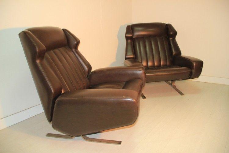 vintage sessel italien 1960er 1970er bei pamono kaufen. Black Bedroom Furniture Sets. Home Design Ideas