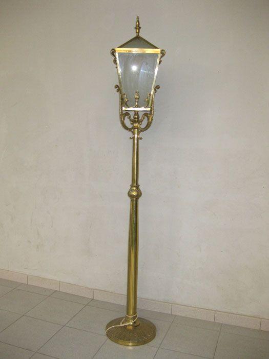Mid century lantern floor lamp for sale at pamono mid century lantern floor lamp mozeypictures Gallery