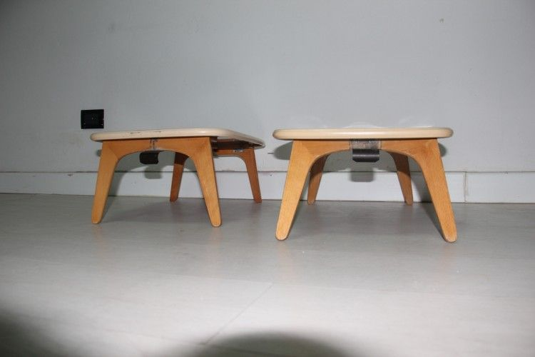 mid century bed trays by fratelli reguitti set of 2