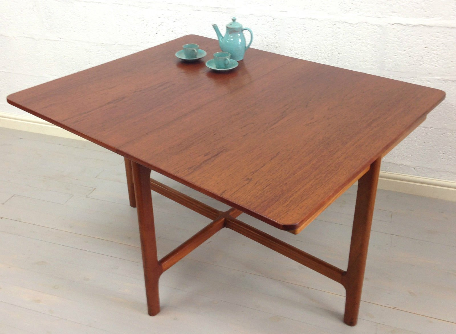 Mid Century Teak Dining Table By McIntosh For Sale At Pamono
