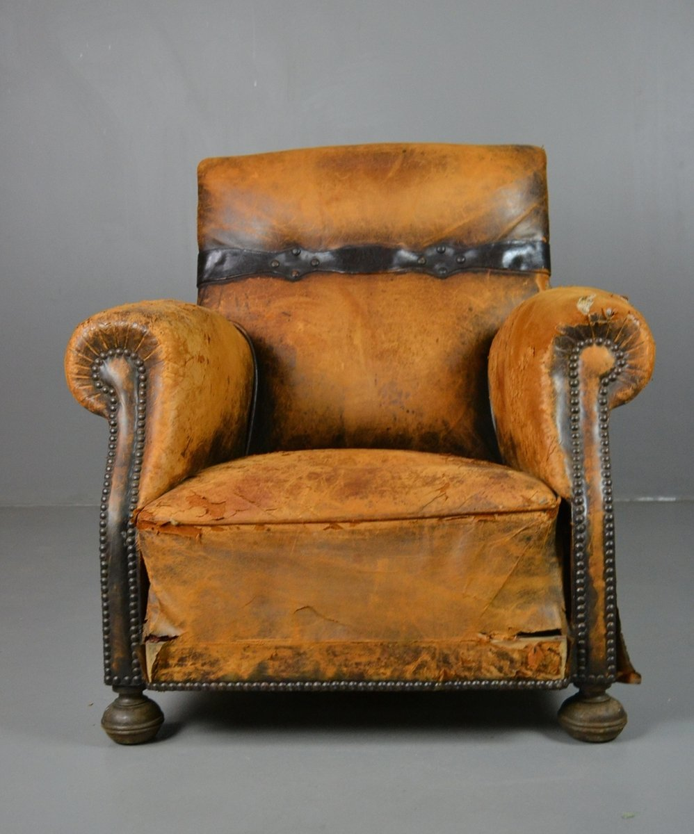 vintage leather chairs for sale antique brown leather chair for at pamono 8838