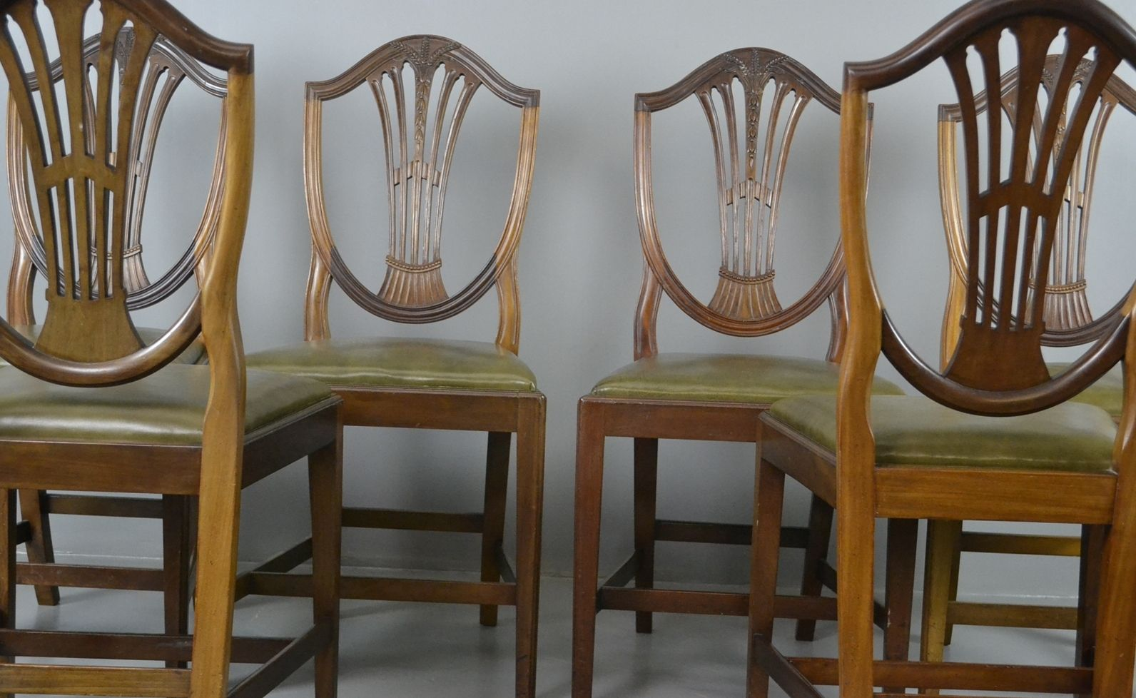 edwardische hepplewhite waring esszimmerst hle 6er set bei pamono kaufen. Black Bedroom Furniture Sets. Home Design Ideas