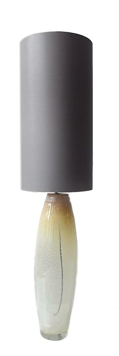 lampe de bureau grande jaune vintage en verre de murano en vente sur pamono. Black Bedroom Furniture Sets. Home Design Ideas