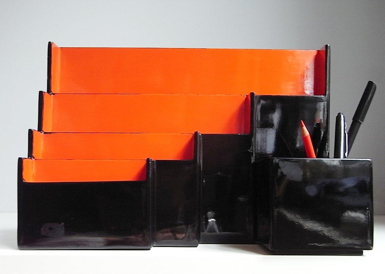 lack office set von gunther lambert 1970er 2er set bei pamono kaufen. Black Bedroom Furniture Sets. Home Design Ideas