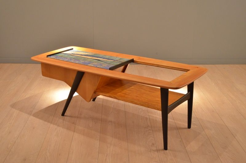 Multicolor Coffee Table By Alfred Hendrickx For Belform