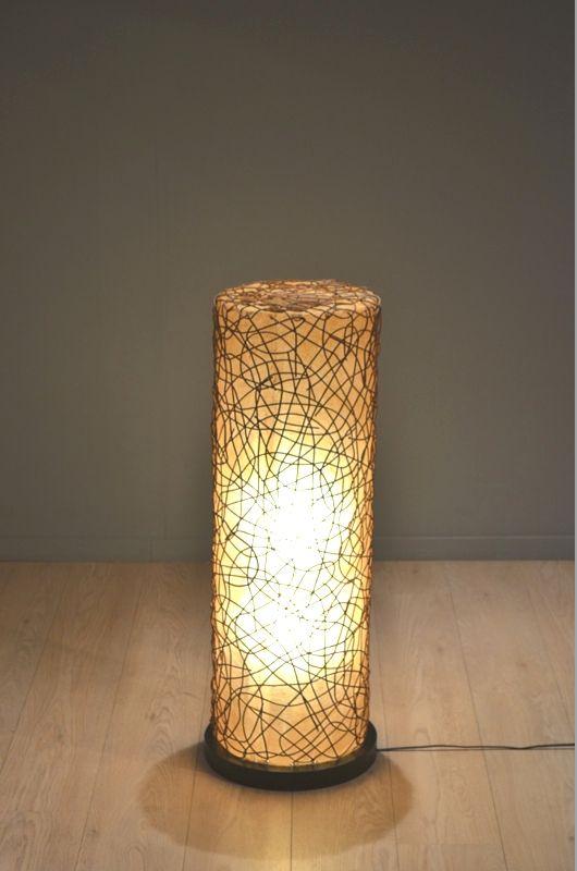 Lampe d 39 ambiance mid century en fibre de verre en vente sur pamono - Lampe fibre de verre ...