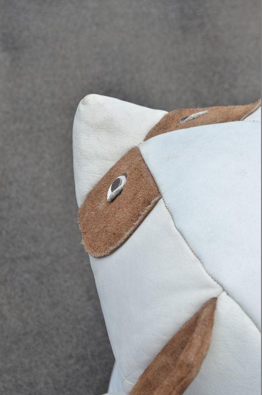 panda leder sitzsack bei pamono kaufen. Black Bedroom Furniture Sets. Home Design Ideas