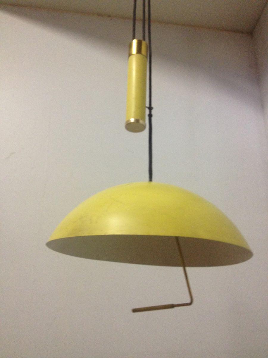 retractable lighting fixtures. retractable lighting yellow pendant lamp 1950s fixtures s