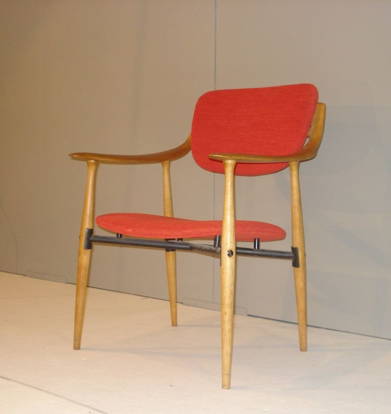 Mid Century Wooden Armchair 8. £659.00 & Mid Century Wooden Armchair for sale at Pamono