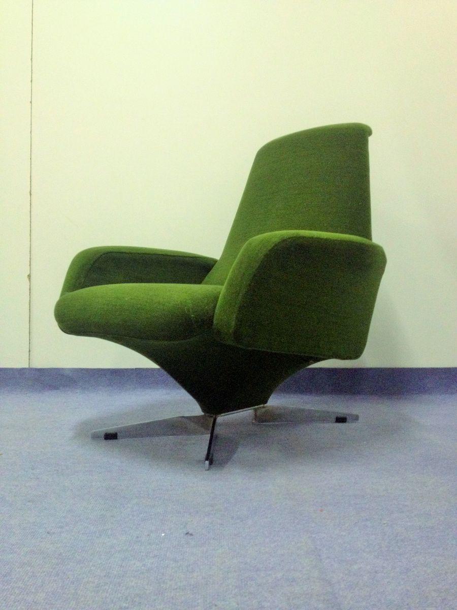 fauteuil unesco de gilbert steiner pour si ges steiner. Black Bedroom Furniture Sets. Home Design Ideas