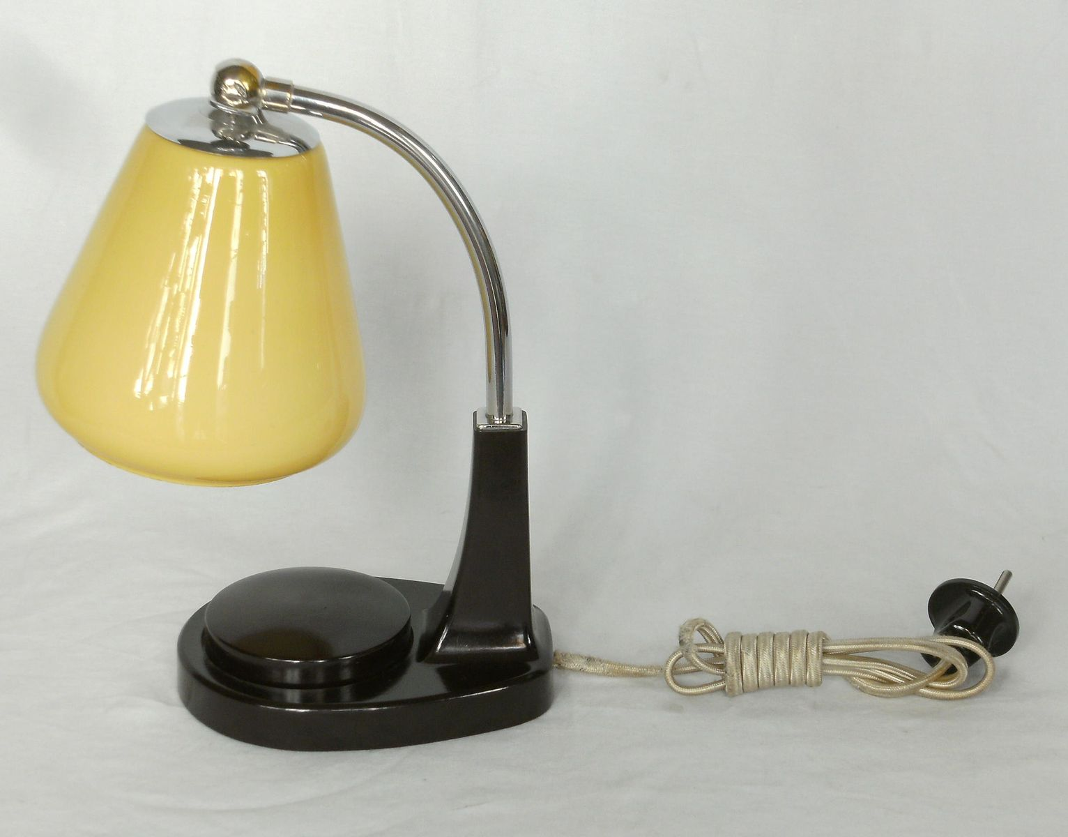 bedside lamps tastlicht by marianne brandt for gmf set of 2 for sale at pamono