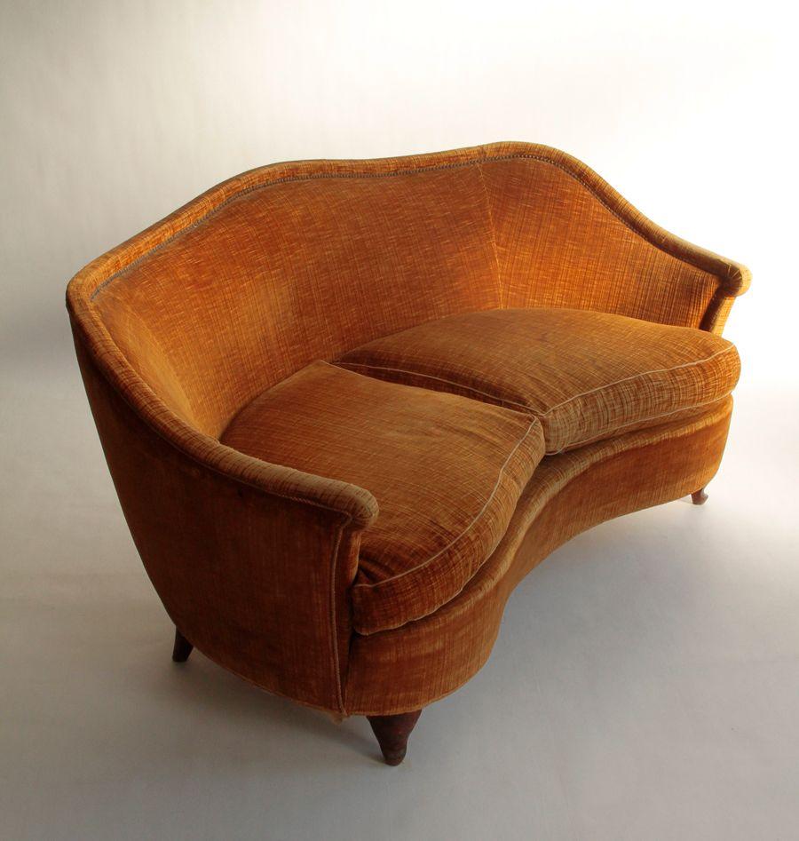 vintage sofa 1940er bei pamono kaufen. Black Bedroom Furniture Sets. Home Design Ideas