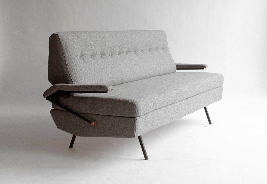 italienische sofa liege 1950er bei pamono kaufen. Black Bedroom Furniture Sets. Home Design Ideas
