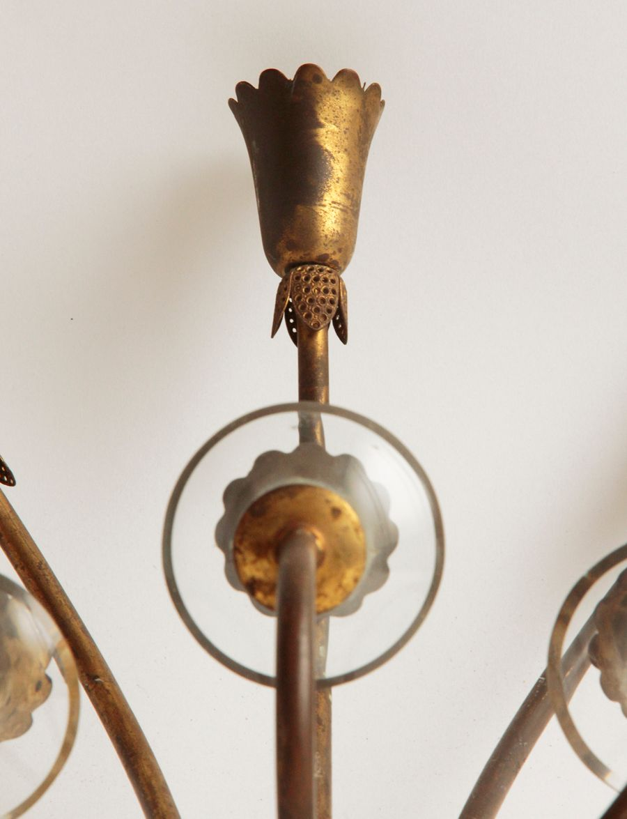 Vintage Italian Wall Light, 1940s for sale at Pamono