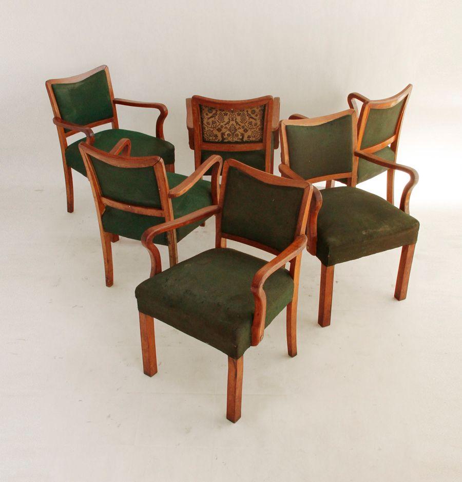 italienische transatlantische esszimmerst hle 6er set bei. Black Bedroom Furniture Sets. Home Design Ideas