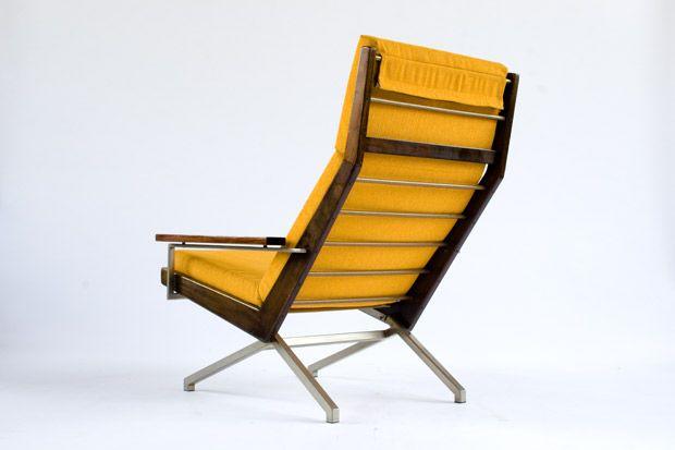 gelber lotus sessel von rob parry f r gelderland bei. Black Bedroom Furniture Sets. Home Design Ideas