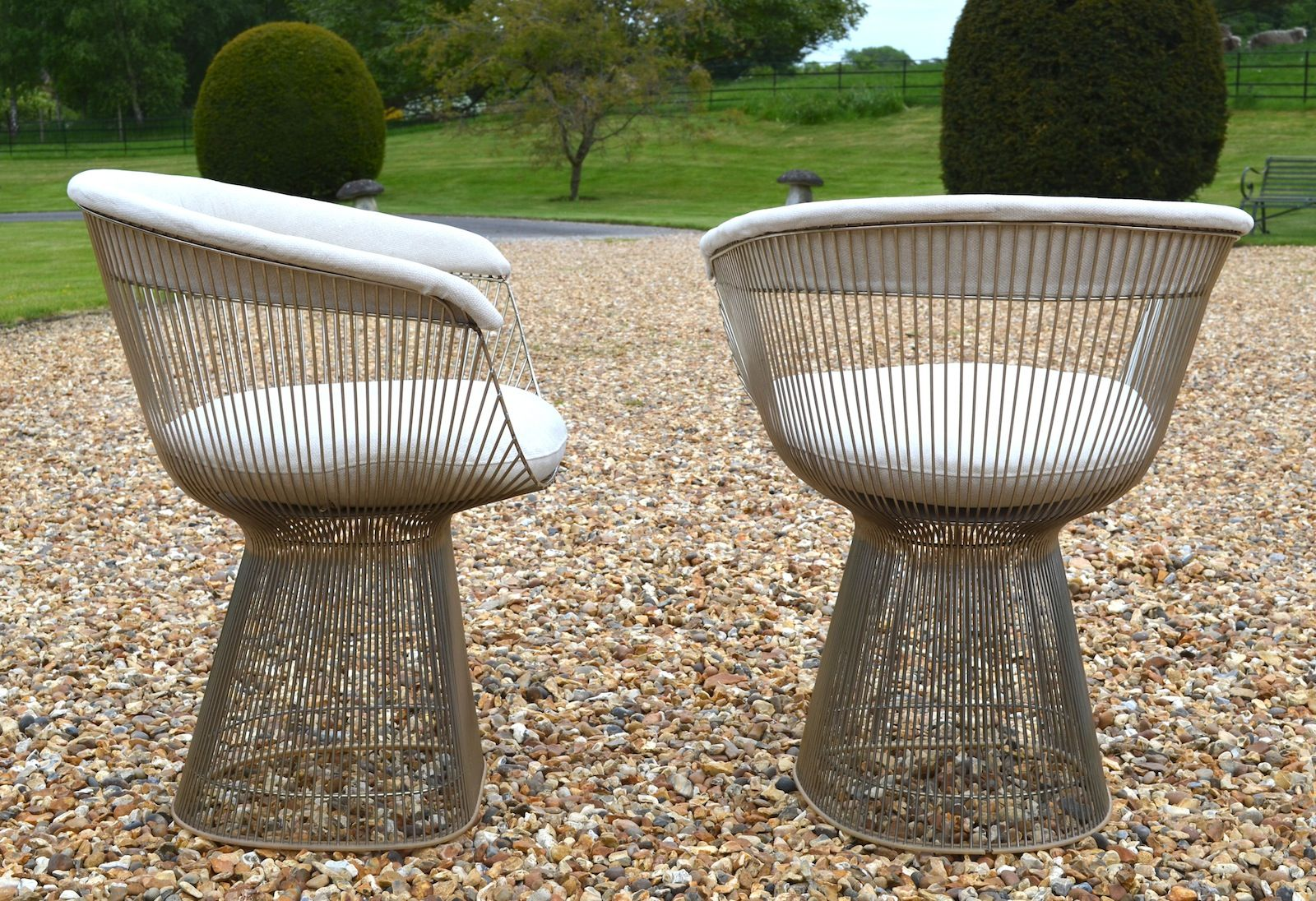 chairs by warren platner for knoll set of 2 for sale at pamono