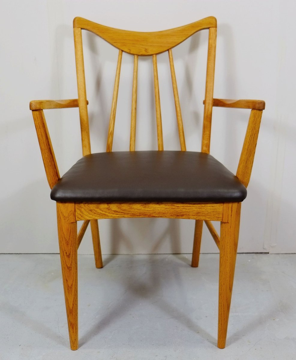 Vintage Dining Chairs From Keller Furniture, 1950s, Set Of