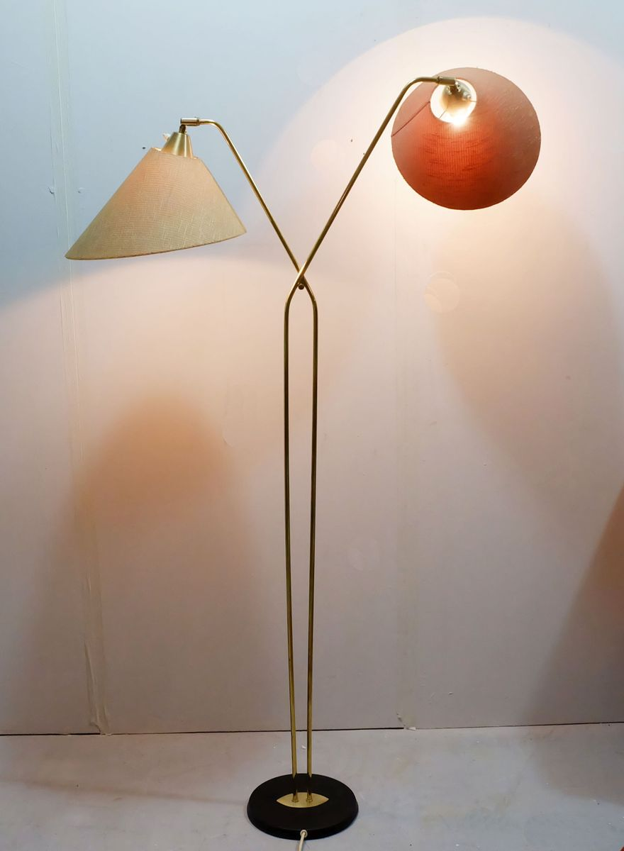 Large floor lamp 1950s for sale at pamono for 1950 floor lamp