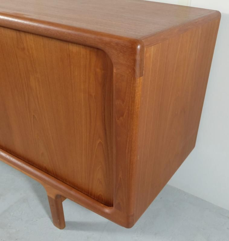 Mid century sideboard with sliding doors from dyrlund for for Sideboard 220 cm