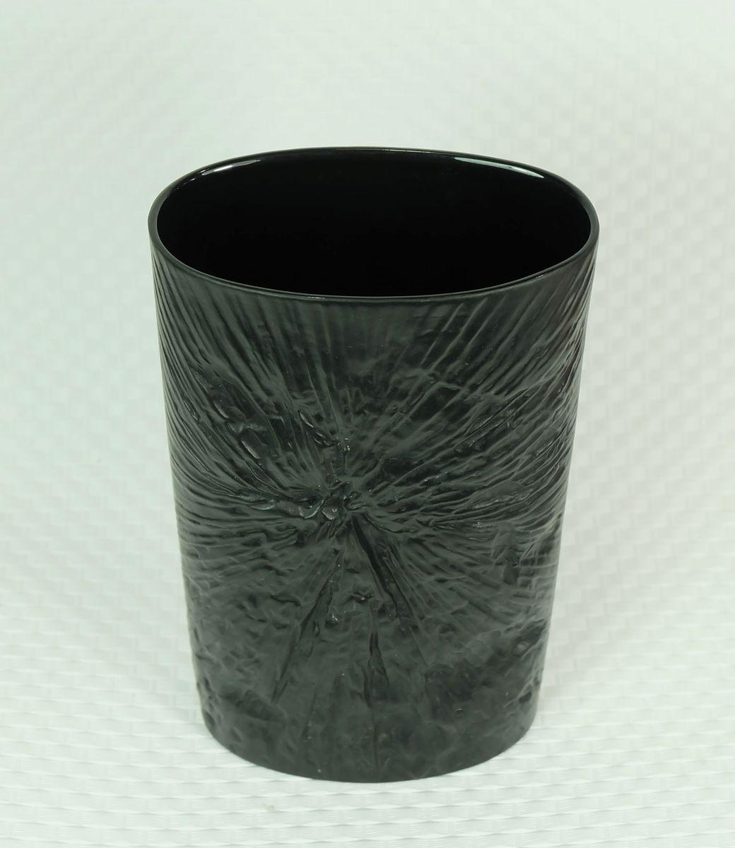 schwarze vase von martin freyer f r rosenthal 1970er bei pamono kaufen. Black Bedroom Furniture Sets. Home Design Ideas