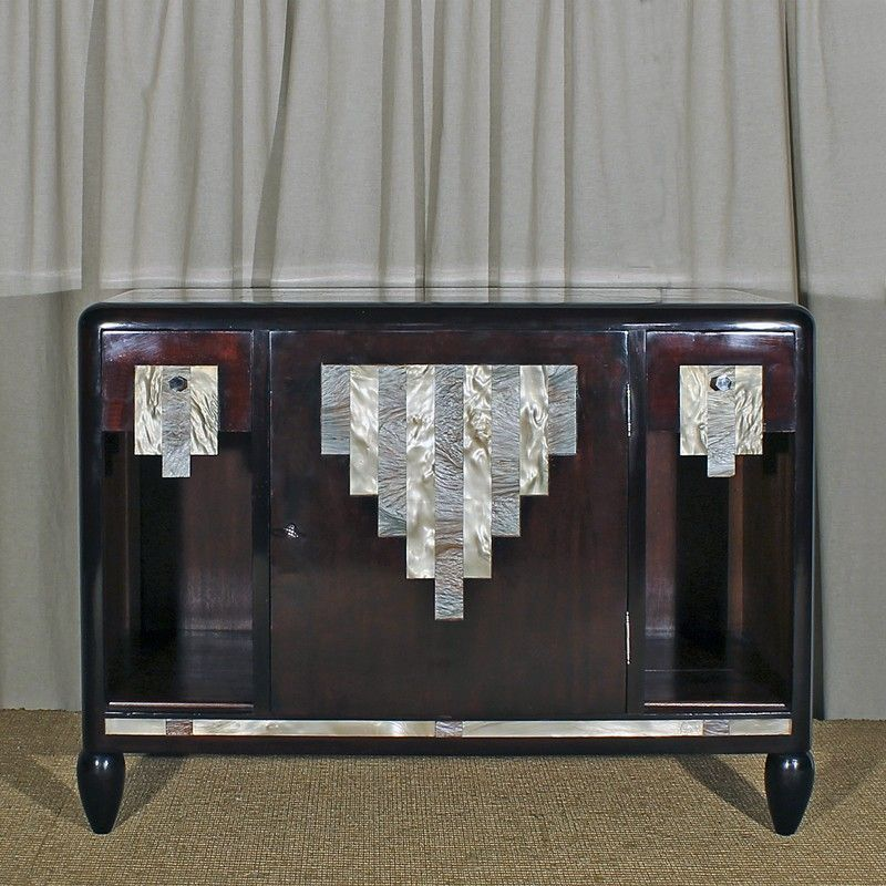 Low art deco cabinet france 1920s for sale at pamono - Meuble art deco occasion ...