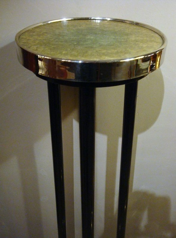 art deco trident tisch italien 1930er bei pamono kaufen. Black Bedroom Furniture Sets. Home Design Ideas